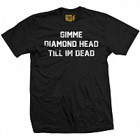 VOL4 DIAMOND HEAD TEE blk