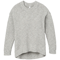 RVCA ZIGGED SWEATER HEATHER GREY