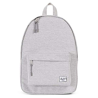 Herschel Classic Mid-Volume Light Grey Crosshatch