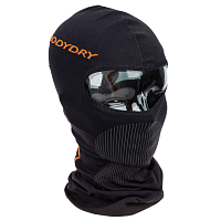 BODY DRY MAKALU BALACLAVA BLACK/RED