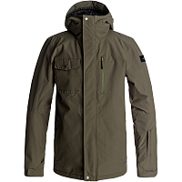 Quiksilver MISSION SOL JK M SNJT GRAPE LEAF