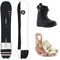 Burton W FREERIDE PACKAGE 2 0