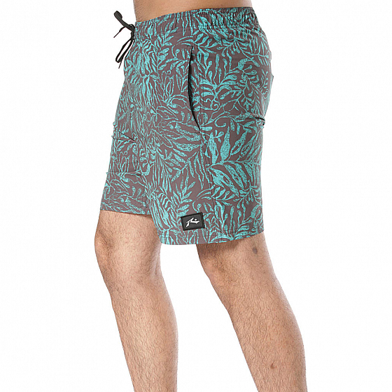 Бордшорты RUSTY SHADOW LEAF ELASTIC BOARDSHORT SS19 от Rusty в интернет магазине www.traektoria.ru - 3 фото