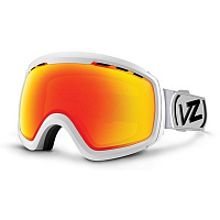 VonZipper FEENOM NLS White Satin/Fire Chrome