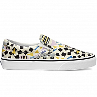 Vans Classic Slip-On (Eley Kishimoto) drums/white