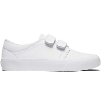 DC TRASE V SE J SHOE WHITE/WHITE/ATHLETIC RED