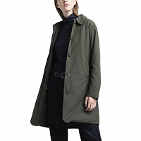 Herschel WOMEN'S MAC COAT INSULATED DARK OLIVE