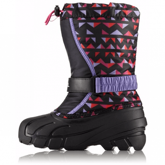 Ботинки SOREL YOUTH FLURRY PRINT FW18 от SOREL в интернет магазине www.traektoria.ru - 2 фото