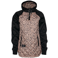Saga QUILTED ANORAK Salmon Marble