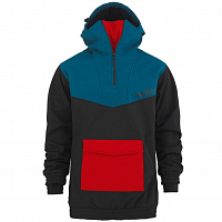 Majesty ANORAK SOFTSHELL BLACK/RED/BLUE