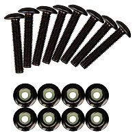 Sector9 1 FLUSH MOUNT BOLT blk