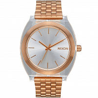 Nixon Time Teller Acetate Rose Gold/Clear
