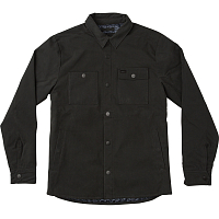 RVCA UTILITY SHIRT JACKET RVCA BLACK