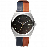 Nixon Time Teller Dark Copper/Navy/Saddle