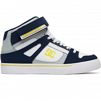 DC PURE HT EV B SHOE NAVY/GREY