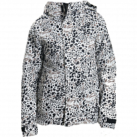 686 WM AUTHNTIC SMARTY CATWALK JKT GREY ANIMAL PRINT