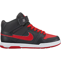 Nike MOGAN MID 2 JR B ANTHRACITE/UNIVERSITY RED-WHITE