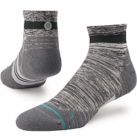 Stance RUN MENS UNCOMMON SOLIDS QTR Charcoal