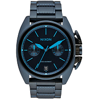 Nixon ANTHEM CHRONO ALL DARK BLUE