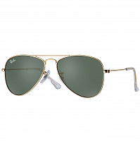 Ray Ban JUNIOR AVIATOR GOLD/GREEN