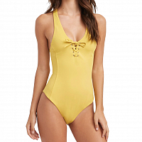 RVCA SOLID LACE FRONT ONE MUSTARD