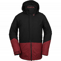 Volcom PAT MOORE 3-IN-1 JKT BURNT RED