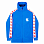 EQUIPMENT TRAINING JACKET Б BLUE/STRIPED Б