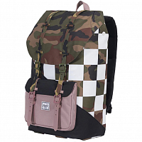 Herschel Little America Woodland Camo/Ash Rose/Checker