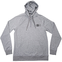 RVCA BJ HOOD ATHLETIC HEATHE