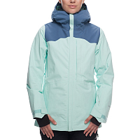 686 WMS GLCR GORE-TEX WONDRLND JKT SEAGLASS COLORBLOCK