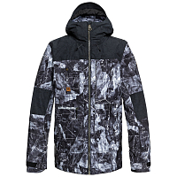 Quiksilver ARROW WOOD JK M SNJT BLACK_TANNENBAUM