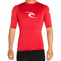 Rip Curl CORPO S/SL UV TEE RED