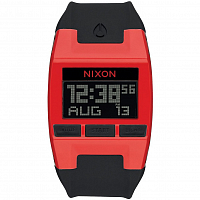 Nixon COMP RED/BLACK