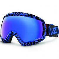 VonZipper FEENOM NLS Black-Blue Gloss / Sky Chrome