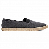 Quiksilver ESPADRILLED M SHOE SOLID BLACK