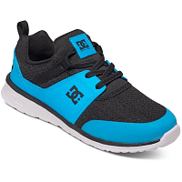 DC HEATHROW B SHOE Black/Blue