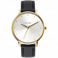 Nixon Kensington Leather Gold/White/Black