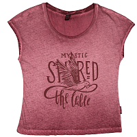 Mystic LUCID TEE BURGY RED