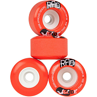 RAD GLIDE WHEELS RED