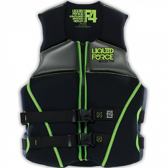 Жилет водный LIQUID FORCE REFLEX CGA SS15 от Liquid Force в интернет магазине www.traektoria.ru - 1 фото