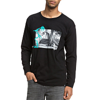 DC EVAN WALL RIDE  M TEES BLACK