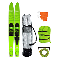 Jobe ALLEGRE COMBO SKIS PACKAGE LIME GREEN
