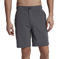 Hurley M PHANTOM COASTLINE SHORT 18' BLACK HEATHER