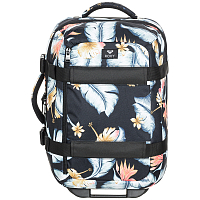 Roxy WHEELIE 2 J LUGG ANTHRACITE TROPICAL LOVE S