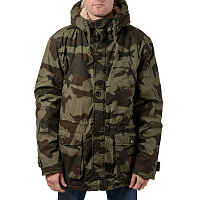 Billabong STAFFORD PARKA JUNGLE CAMO
