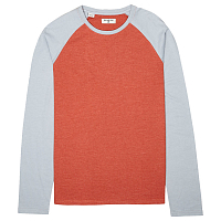 Billabong ALL DAY LS CREW RUSTIC RED