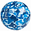 RIPNDIP BEACH BUM BEACH BALL BLUE CAMO