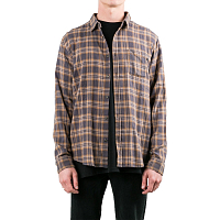 Rusty CARD LONG SLEEVE SHIRT FENNEL