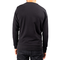 Faction CREW NECK SWEATER BLACK