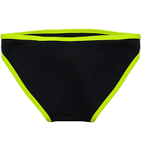 Glidesoul LOW BIKINI BOTTOM 0,5 MM Black/ Lemon